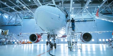 Gloning Krantechnik Branchen Luftfahrt Raumfahrt